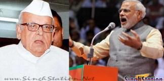 Uttarakhand Governor drags Modi