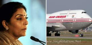 Renuka Chowdhury air india