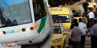 melbourne-tram-and-taxi-strike