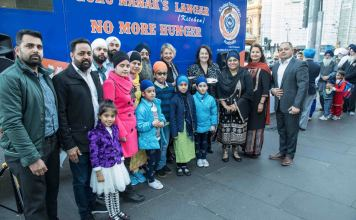 khalsa foundation australia food van