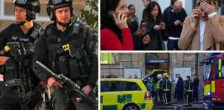 London Underground explosion