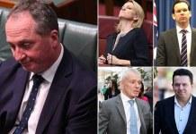 Barnaby Joyce disqualified parliament