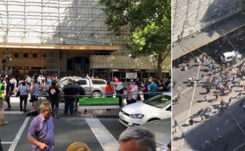 melbourne flinders street car incident