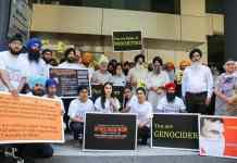 sydney sikhs protest jagtar johal