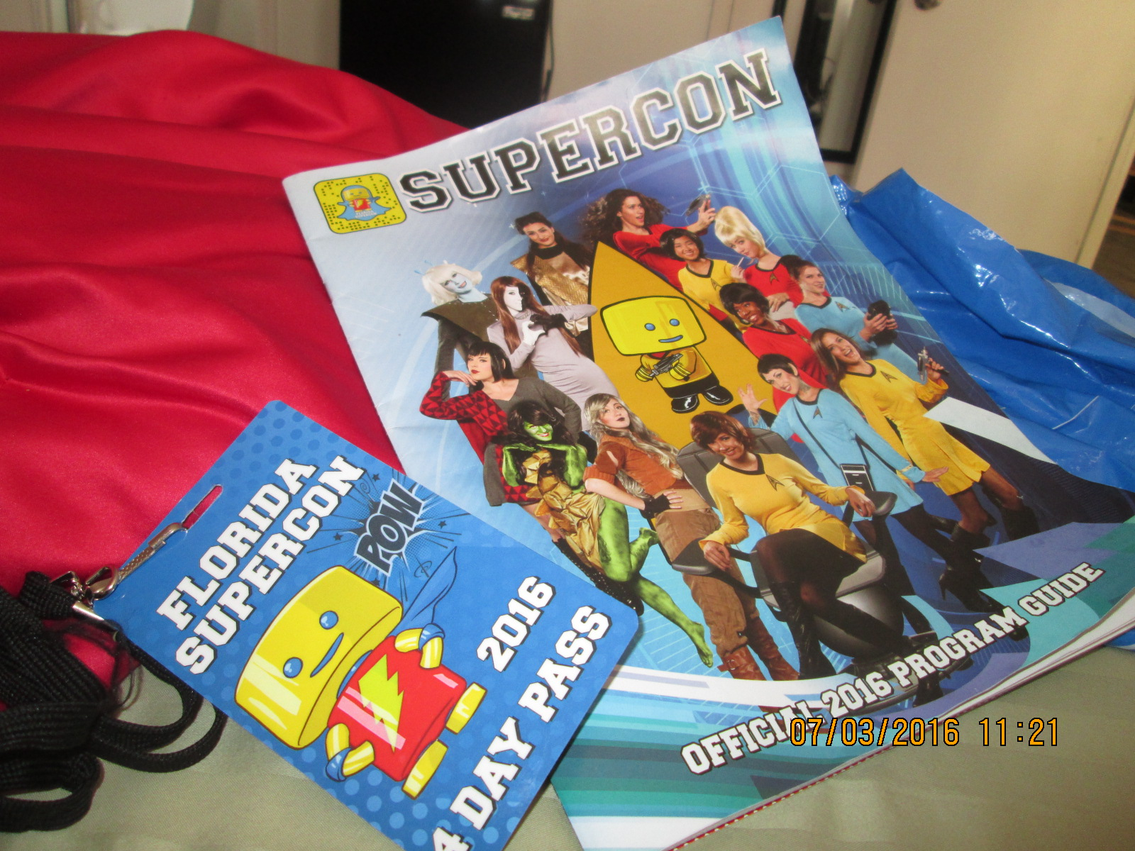 These Are the Voyages–Florida Supercon (Day 3) – Singin