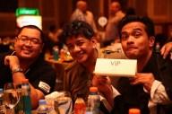 Bobby Cruz (CruiseControl), Rene Villarta (Jazzrunner), and Rain Ordoñez (KB Runner/Photo-Ops).