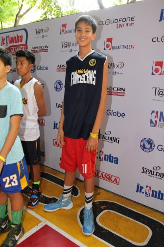 "Kyle Zachary Sotto, stands 6'9"", the tallest of all the participants, is only 13 years old!"