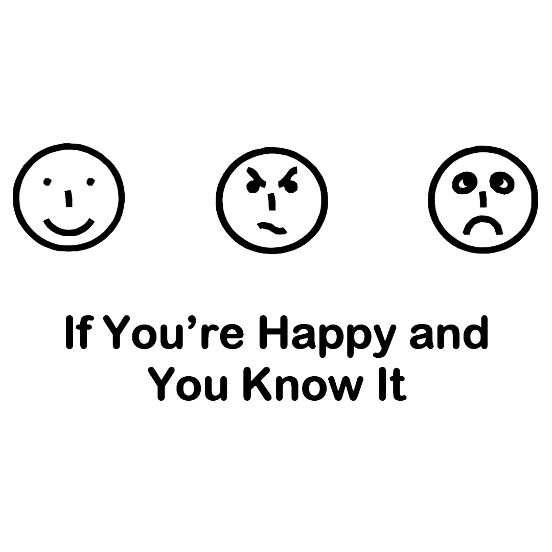 If You Re Happy And You Know It Songsheet