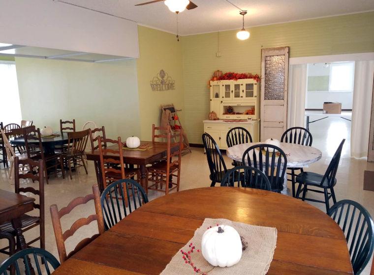 Tea Room Dining Area
