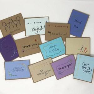 handmade notecards, Haiti