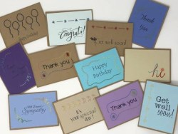 handmade notecards, Haiti