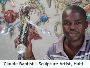 Original, one of a kind art Haiti