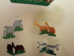 Noah's Ark Wooden Mobile Haiti