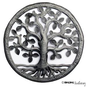 """TreeofLife MetalWallArt,Haiti"