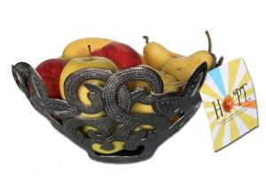 Metal Fruit Bowl, Haiti