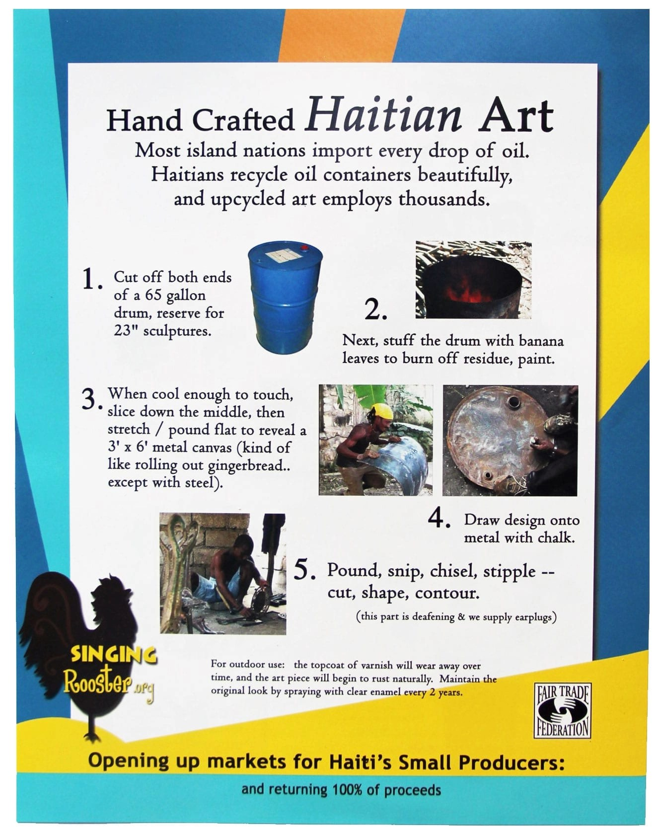 wholesale haitian coffee art chocolate retail fundraising