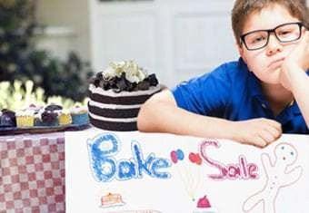 boring bake sale