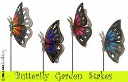 where to find monarch butterfly garden art online