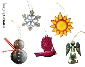 Christmas ornaments, Haiti