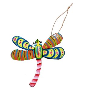 dragonfly Christmas ornament