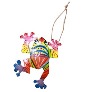 frog Christmas ornament