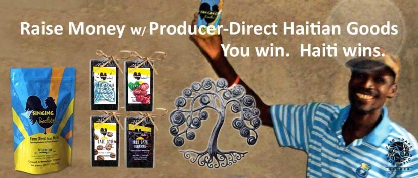 Raise money with Haitian coffee, chocolate, art