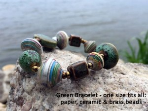 green bracelet haiti