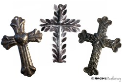 purchase Metal Cross Wall Art from Haiti