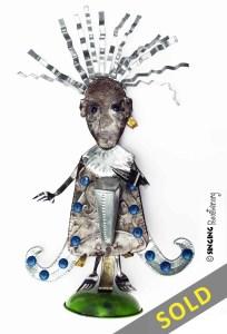 buy Haitian art metal sculptures wall art online