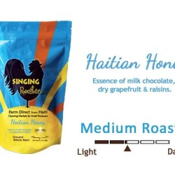 Haitian honey coffee