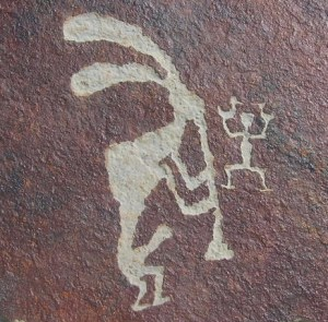 kokopelli petroglyph