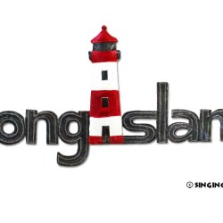 Long Island word art