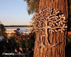 metal garden art haiti