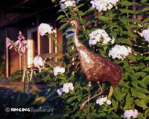purchase metal garden stake crane