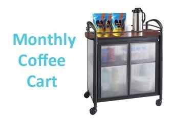 Set up a Monthly Haitian Coffee cart