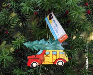 old tyme time Christmas ornament