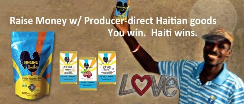 raise money for haiti