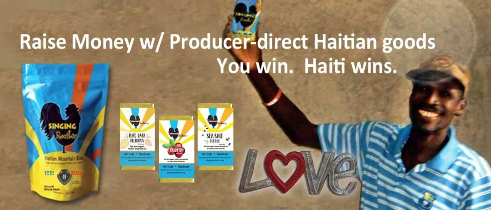 raise money, Haiti, coffee