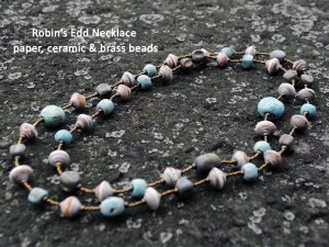 robin necklace, Fair trade jewelry, Haiti