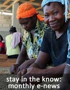 Haitian coffee, chocolate news signup