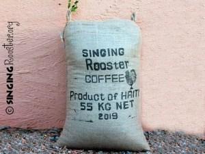 sack green haiti coffee