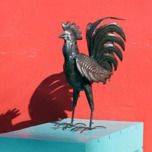 Singing Rooster art