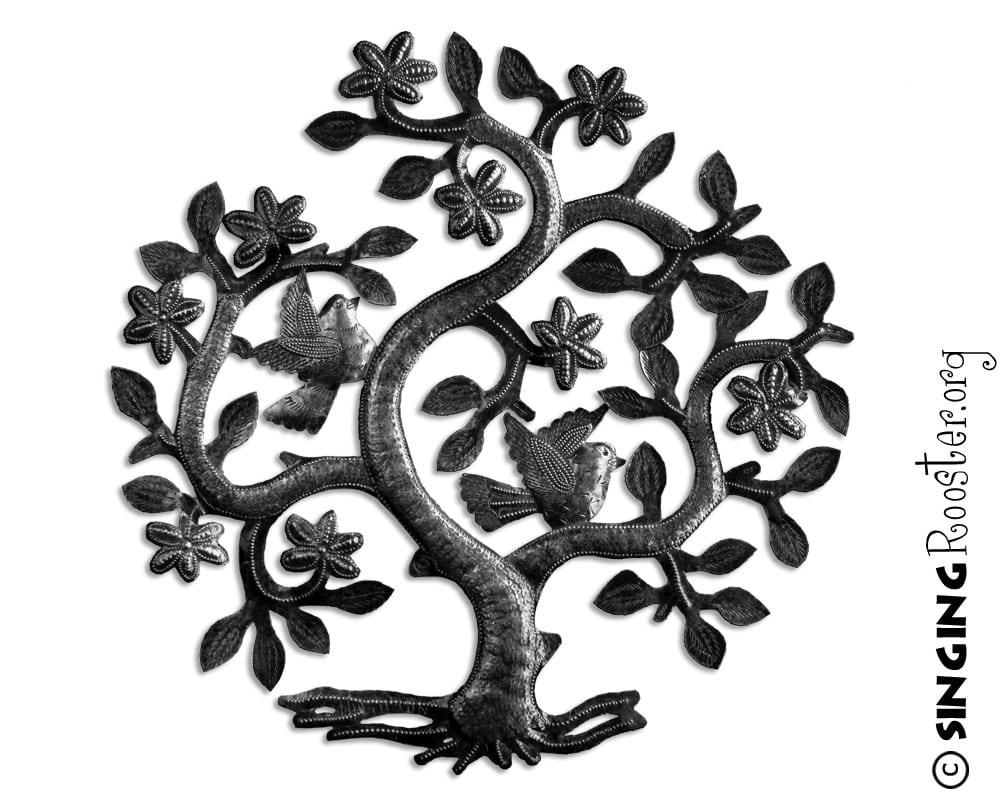 Tree Of Life, Metal Wall Art, Haiti