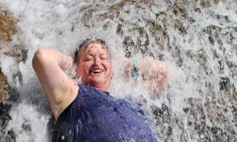 travel saut eau waterfall haiti