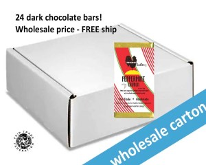 Haitian peppermint chocolate bar