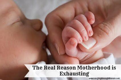 motherhood is exhausting