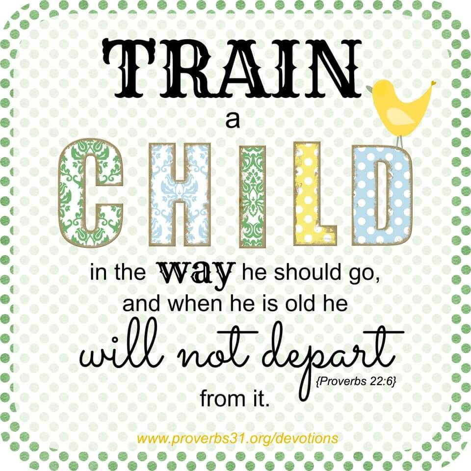 Image result for train a child