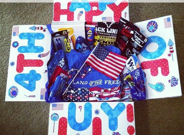 4th of July Care Package