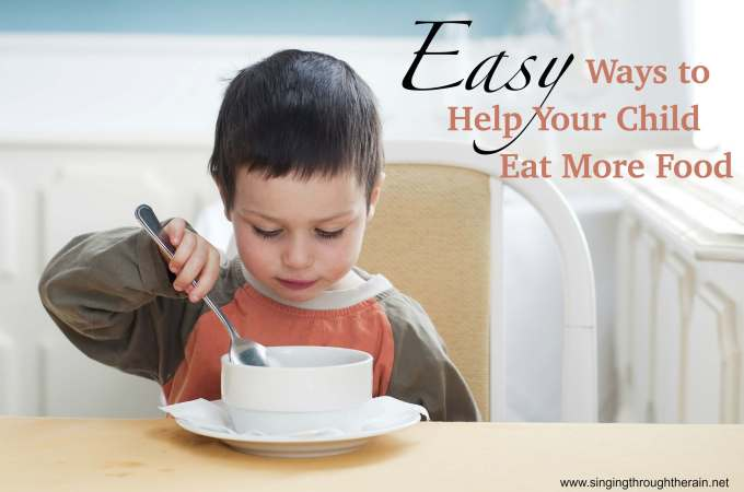 Help Your Child Eat More