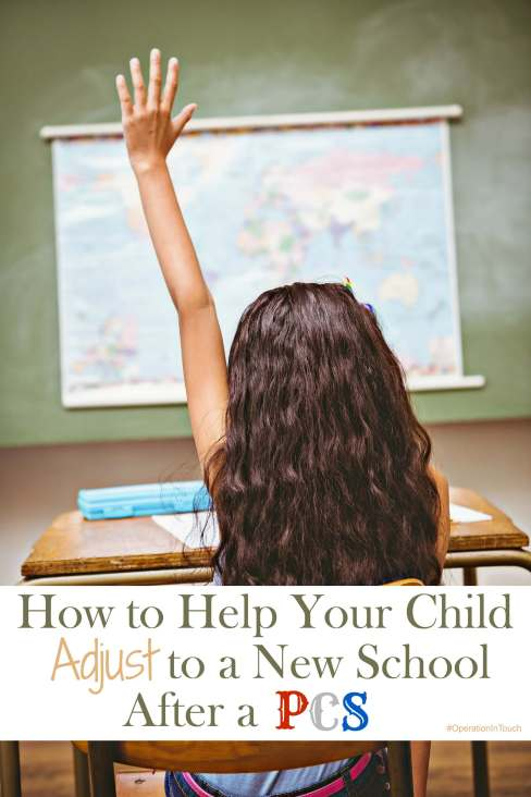 Help Your Child Adjust to a New School